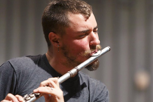 Greg Pattillo is an accomplished flute player who also experiments with beatboxing while he plays the instrument.