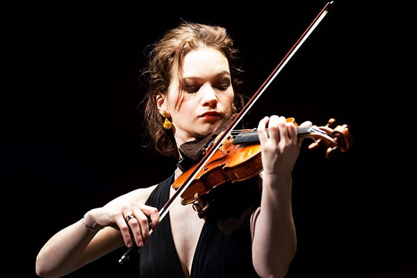 Hilary Hahn debuted at Carnegie Hall at age 16, destined to be one of the best violin players in the world, which she has now attained.