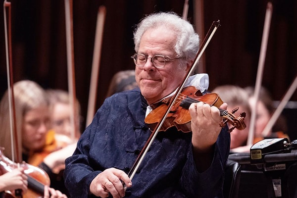 Itzhak Perlman is one of the modern great violin players, earning 16 Grammys, 4 Emmys, and much more.