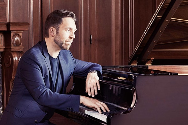 Leif Ove Andsnes is one of the best piano players in the world, known for his unique artistic approach.