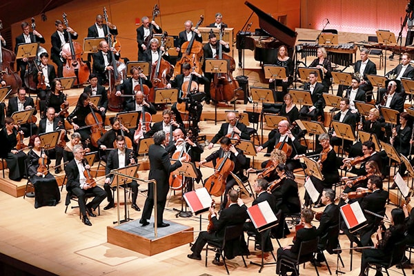 The Los Angeles Philharmonic are a modern and very contemporary and innovative symphony orchestra.