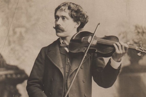 Pablo de Sarasate is one of the best violin players of all time, traveling the entire world in a time when that was rare.