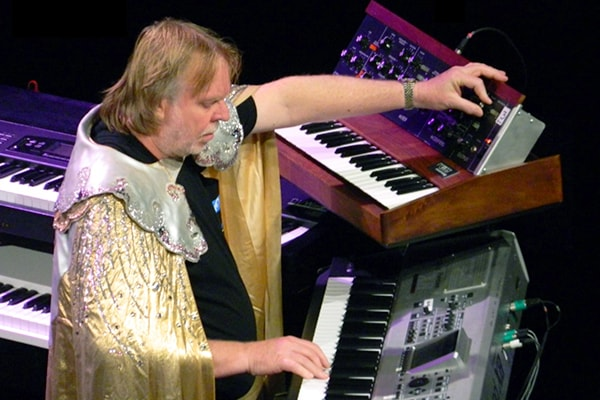 Rick Wakeman, called the Wizard of the Keyboards, is easily one of the most talented keyboard players, known for his work in the band Yes.