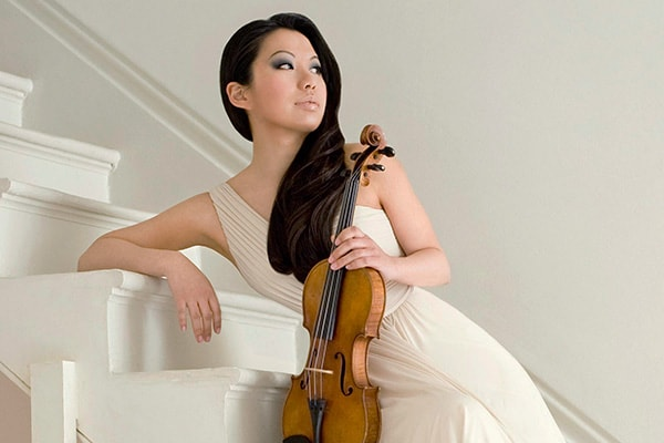 Sarah Chang is one of the newer big players and has quickly earned her spot on the list of the best violinists in the world.