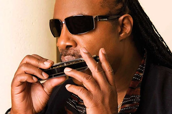 Stevie Wonder is one of the best harmonica players in the world, though his talents at piano overshadow him.