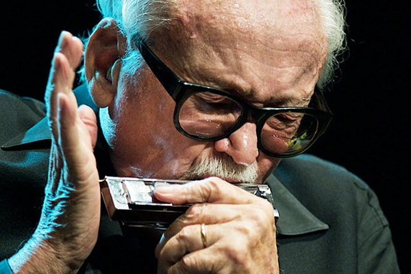Our pick for the best harpist of all time is Toots Thielemans, who did legendary work with Quincy Jones.