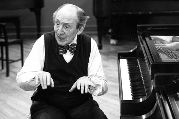 Vladimir Horowitz was not only an accomplished piano player but was always so engaged with his audience that everyone loved him.